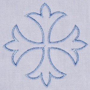 patonce linen embroidery design altar linens
